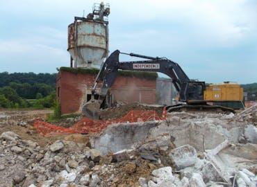 Avtex Fibers WWTP Demolition