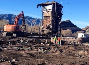 BHP W.N. Clark Plant Demolition
