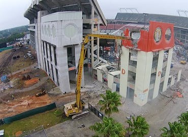 Florida Citrus Bowl Demolition