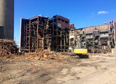 Dairyland Alma Power Station Demolition
