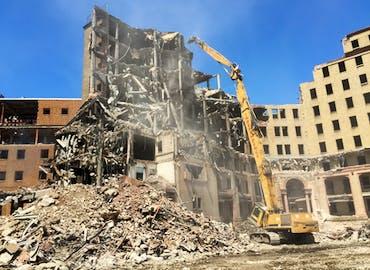Metro Health North Coast Behavioral Health Building Demolition