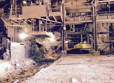 EVRAZ Steel Demolition